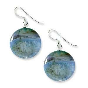 Sterling Silver Blue Agate Earrings West Coast Jewelry Jewelry
