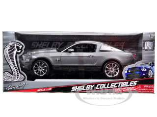 car of 2010 Shelby Mustang GT 500 Super Snake Grey die cast car model