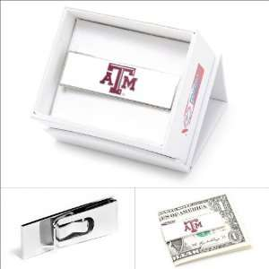 Texas A & M Aggies Money Clip CLI PD TAMU MC: Jewelry