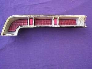 1967 Pontiac Bonneville left tail light 67