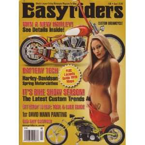 Easyriders Magazine April 2009 Big Sky Custom Laconia Guide! (ISSUE