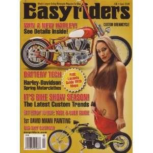 Easyriders Magazine April 2009 Big Sky Custom Laconia Guide! (ISSUE