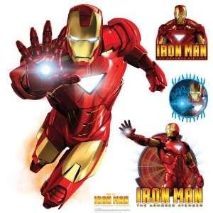 4X4 Iron Man   Marvel Walljammer Toys & Games
