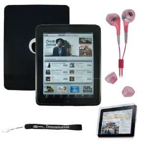 Premium Black Thick Soft Gel Silicone Skin for Apple iPad