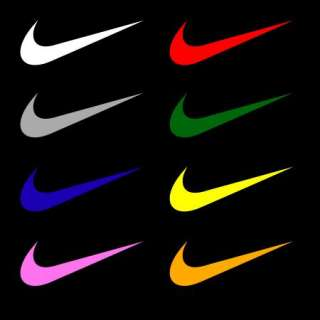 Large Nike Logo Vinyl Decal Stickers