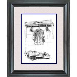 Hockey Art New York Rangers After Shinny Framed Print