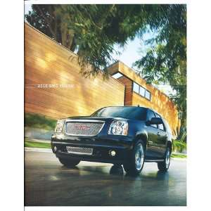 2010 GMC Truck Yukon Original Sales Brochure Everything