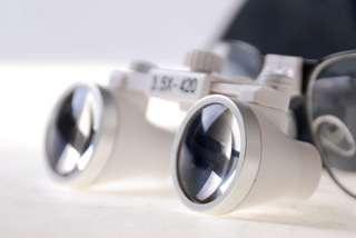 5x Dental Surgical Binocular Loupes w/ LED Head Light