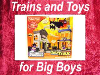 GOTHAM CITY DC Super Friends Fisher Price 00888 Trains Toys Geo New I