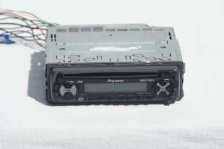 Pioneer DEH 23 CD Player MOSFET 50wx4 EEQ Super Tuner III 3