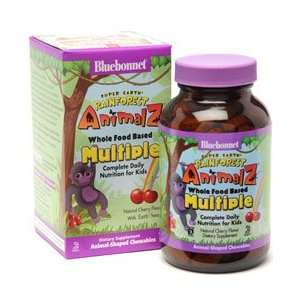 Super Earth Rainforest Animalz Whole Food Based Multiple Cherry   180