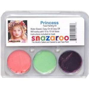 Snazaroo Face Painting Products T 12011 PRINCESS THEME PACK Snazaroo
