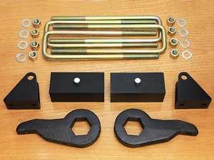 Chevy 3 + 2 Lift Kit 1500 2500 3500 HD 8 lug GMC