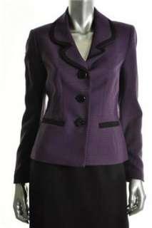 Suit Studio NEW Uptown Glamour Skirt Purple BHFO Misses 12
