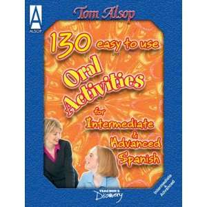 125 Easy to Use Oral Spanish Activities Book Teachers