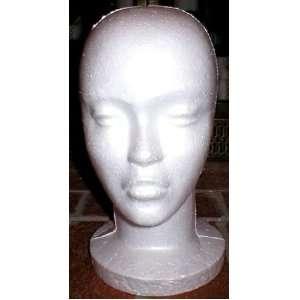Styrofoam Foam Mannequin Head Wig Hat Model Costume