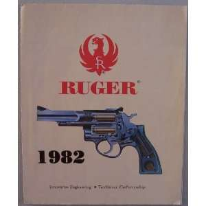 Ruger 1982 fold out [ Sturm, Ruger & Company, Inc