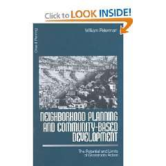 Neighborhood Planning and Community Based Development: The Potential