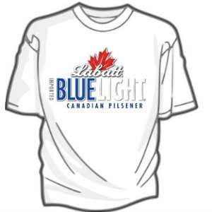 Labatts Blue Light Beer Mens T shirt