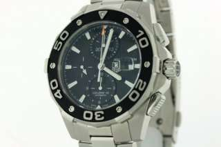 NEW TAG HEUER MENS AQUARACER 500M AUTO CHRONO CAJ2110