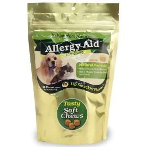NaturVet Allergy Aid Soft Chews for Dogs & Cats (90 ct