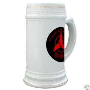 Star Trek Mug, Stein, KLINGON BLOOD WINE ONLY  QAPLA