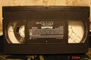Disneys Sing Along Campout at Walt Disney World VHS Rare HTF~Mickeys