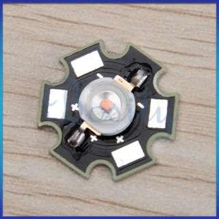 10pcs 3W High Power Star LED Light Lamp Bulb Amber Long Life 70LM