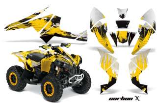 GRAPHIC STICKER KIT OFF ROAD QUAD DECAL WRAP CANAM RENEGADE CXY
