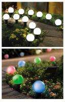 Solar Color Change LED Lights Globes Lighting Outdoor