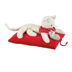 Kitty Cat Play Set with Bandana, Mouse and Pillow Toys & Games