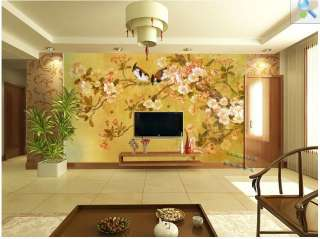 DIY Decorative Wall Paper Art Sticker Murals Countryside Painting