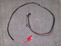1967 FORD MUSTANG 289 w TACH ENGINE GAUGE FEED WIRING