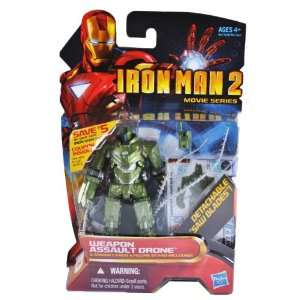 Iron Man 2 Movie Series 4 Inch Tall Action Figure Set #16