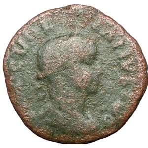 VOLUSIAN Roman Caesar 251AD Large Ancient Roman Coin VIMINACIUM Legion