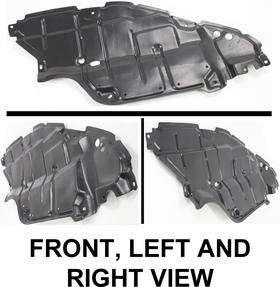 5144206050 New Engine Splash Shield Left Hand Front LH Driver Side