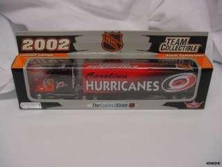 CAROLINA HURRICANES 2002 NHL TRACTOR TRAILER TRUCK DIECAST NEW IN BOX