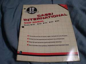 CASE INTERNATIONAL IT MANUAL 385 485 585 685 885 C 39 TRACTOR