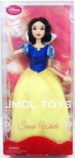 PRINCESS SNOW WHITE DOLL 12 SPARKLE GOWN NEW FULLY POSABLE