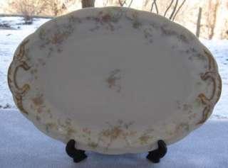 Haviland Limoges The Princess Large Oval Serving Platter Mint