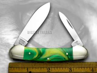 HEN & ROOSTER AND Cats Eye Canoe Pocket Knife Knives