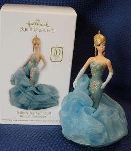 2011 HALLMARK ~ TRIBUTE BARBIE DOLL ~ FASHION MODEL 10TH ANN