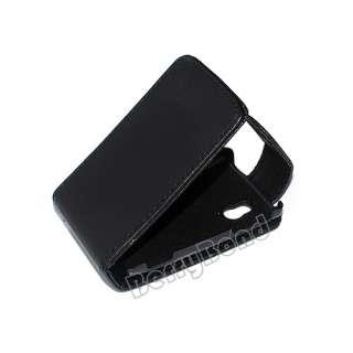 Leather Flip Case for Sony Ericsson Xperia Mini Pro 2 II SK17i phone