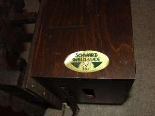 Vintage SWISS SCHNEIDER CUENDET GERMAN CUCKOO CLOCK