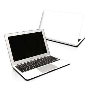 Solid State White Design Protector Skin Decal Sticker for Apple
