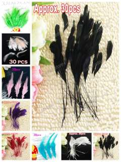 Lot of 50pcs Black Snap Hair Clips w/ Pad Craft Bow