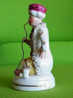 Antique Staffordshire Hookah Smoking Pipe Turk Figure