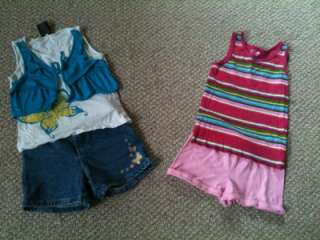 GIRLS SPRING SUMMER CLOTHES LOT SIZE 6T 5/6 HUGE LOT 37 PIECES DRESSES