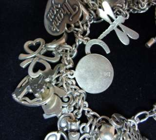 James Avery Sterling Silver HUGE CHARM BRACELET WITH 51 CHARMS MANY
