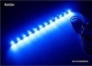 B04WDB M 12 LED wide blue 5V lighting module